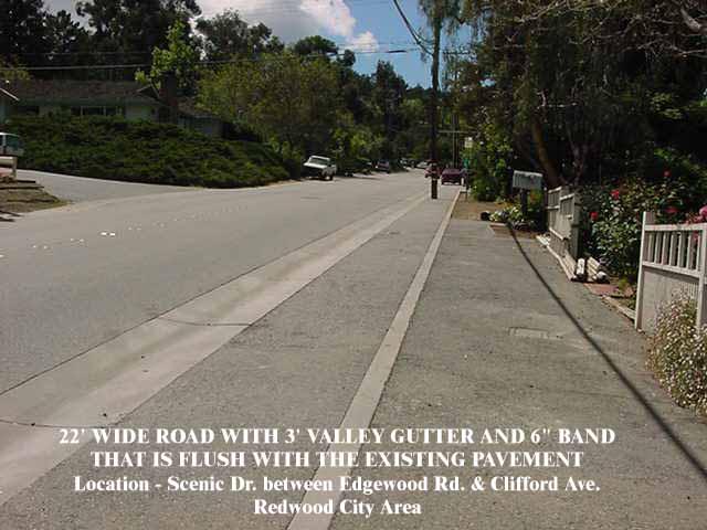 North Fair Oaks Road Standards Info